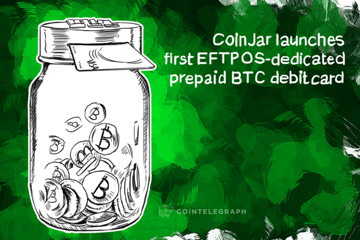CoinJar launches first EFTPOS-dedicated prepaid BTC debit card