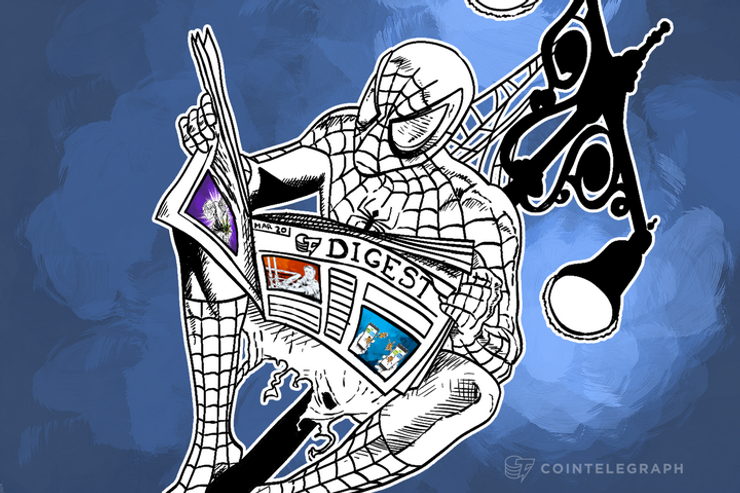 MAR 20 DIGEST: Intel Joins the Blockchain Technology Race, Ukraine Vows to Block Separatists' Bitcoin 'Accounts'