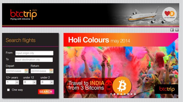 Now you can travel with Bitcoin!