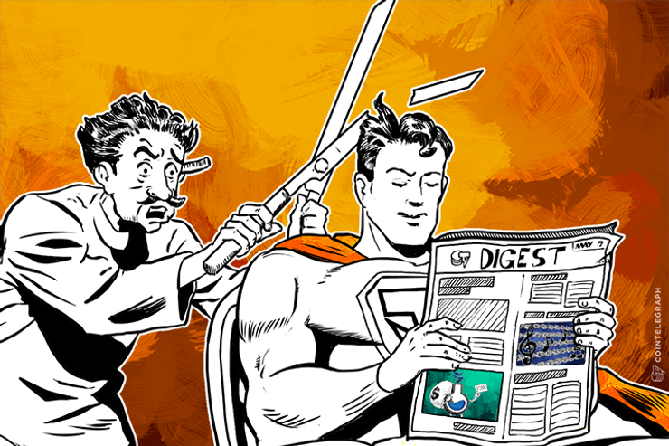MAY 7 DIGEST: Cryptor Trust Launches Blockchain Investment Company, FinCEN to Examine Crypto-related Businesses.