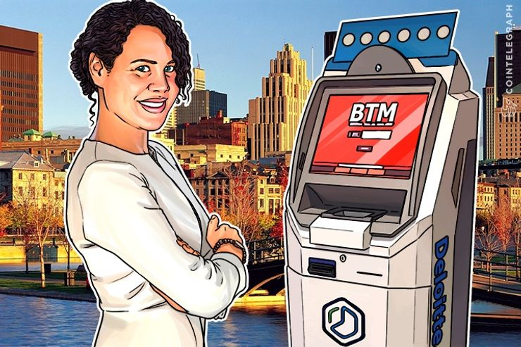 Deloitte Sets Good Example, Installs Bitcoin ATM in Toronto Office on
