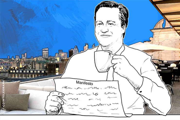 UK Prime Minister David Cameron Backs 'Ambitious' FinTech Manifesto