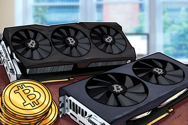 Two GPUs for Bitcoin Mining