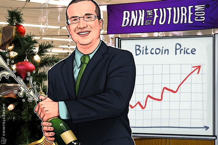 Bitcoin's End of Year Price Spike Boost for Mass Markets in 2017