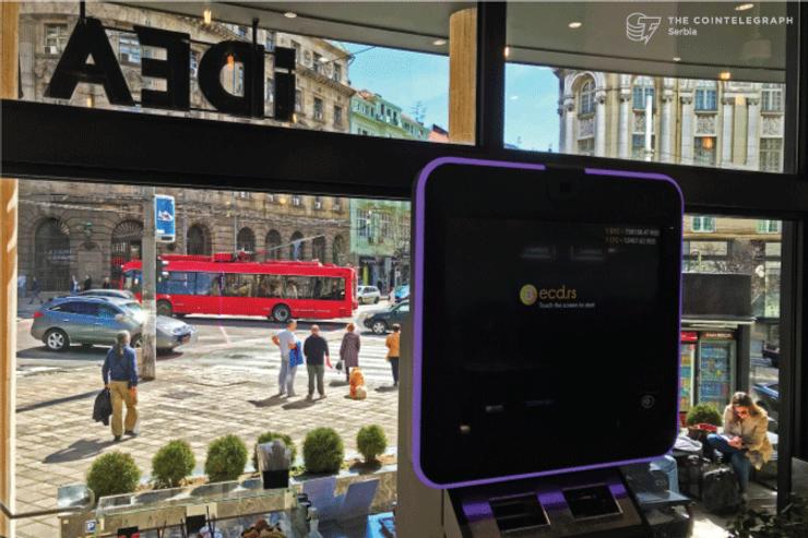 ECD: U IDEA London prodavnici postavljen jedini dvosmerni bitkoin automat u Srbiji
