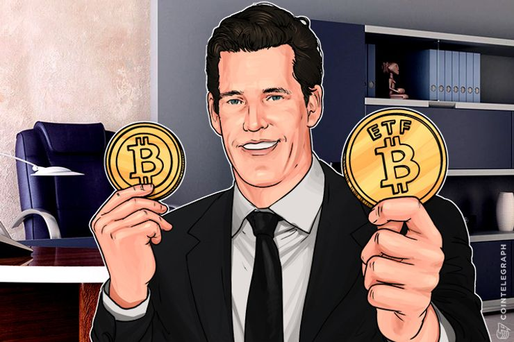 Winklevoss Bitcoin Exchange-Traded Fund Closer to Approval, Uses Cold Storage
