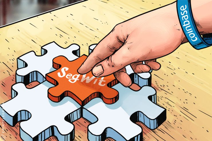 Coinbase revela integração SegWit, desenvolvedores trabalham na Infraestrutura Bitcoin