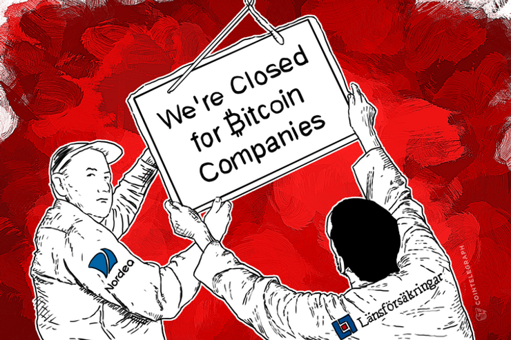 Nordea, Other Swedish Banks Closing Bitcoin Companies' Accounts