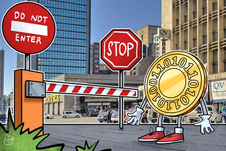 Zimbabwe's Central Bank Bans Financial Institutions From All Crypto Dealings