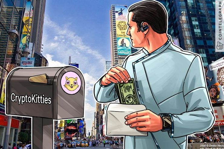 CryptoKitties Receives $12 Mln In Funding From Big Name Investors
