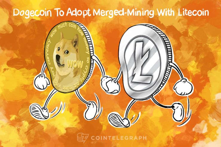 Dogecoin Adopts Merged-Mining With Litecoin