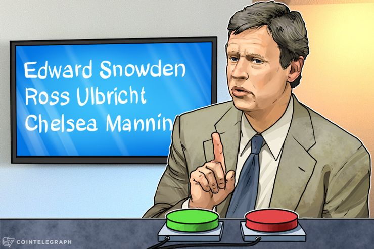 """Gary Johnson Would """"Look Seriously At"""" Pardoning Ross Ulbricht, Edward Snowden, Chelsea Manning"""