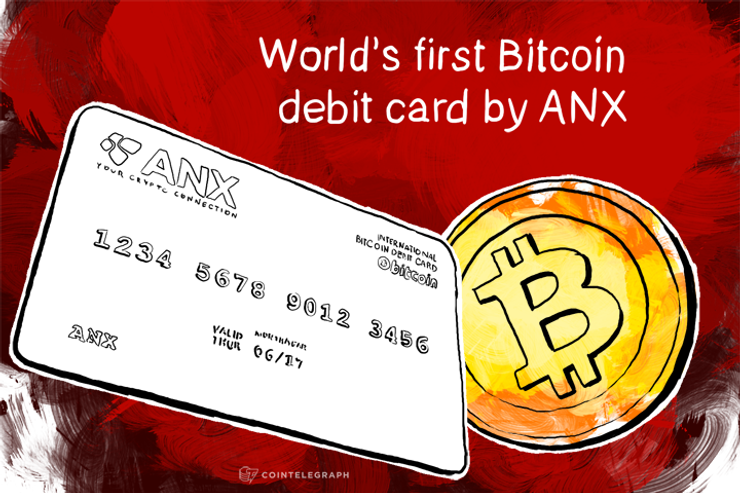 ANX Issues World's First Bitcoin Debit Card