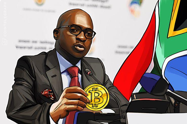 Ministro das Finanças Sul-Africano sobre o Futuro do Bitcoin: um Grande Potencial