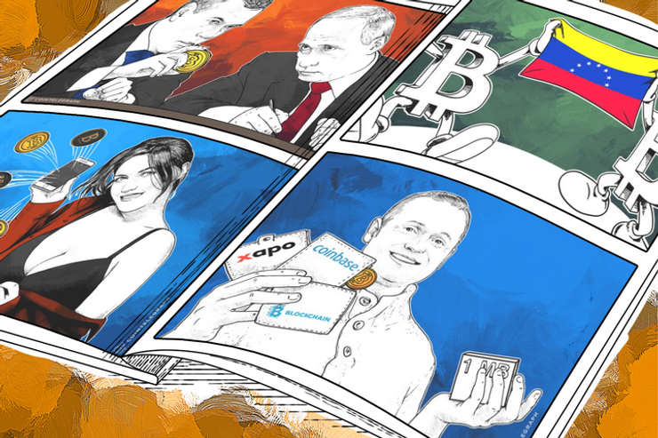 Weekend Roundup: Venezuelans Turn to Bitcoin, Russia to Legalize Bitcoin Transactions