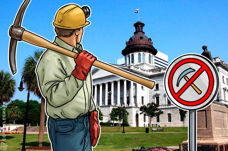 South Carolina Wants To Ban Genesis Mining Over Unregistered Securities