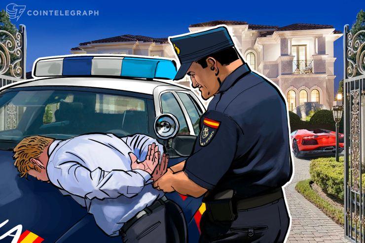 12.4億ドルをBTCに資金洗浄したサイバー犯罪集団を逮捕=スペイン