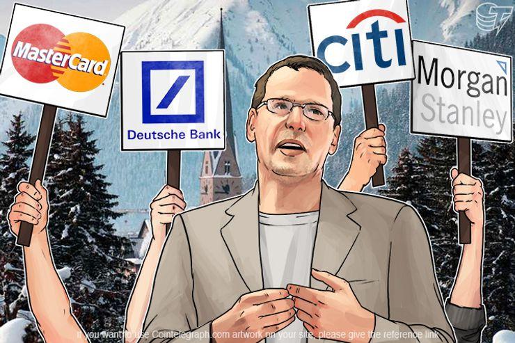Davos Showdown: Bitcoin vs Blockchain