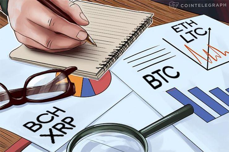 Bitcoin, Ethereum, Bitcoin Cash, Ripple, Litecoin: Análisis de precios, 18 de octubre