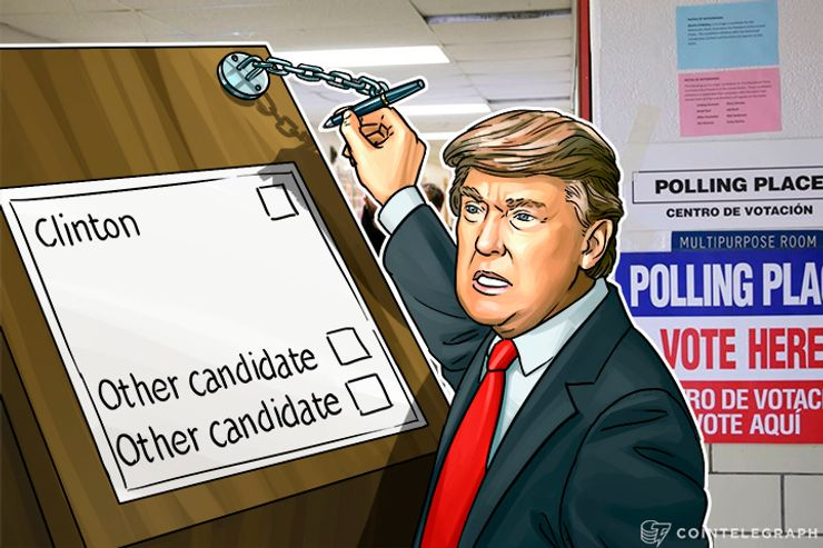 Trump Calls US Elections Rigged, Blockchain Could Make Them Honest