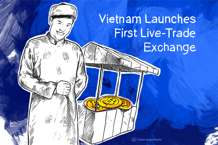 Vietnam Launches First Live-Trade Exchange