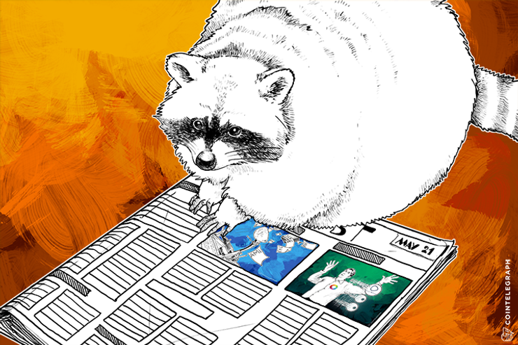 MAY 21 DIGEST: Ben Lawsky to Launch Crypto Consultancy Firm; Citi, J.P. Morgan, Barclays and RBS fined $5.6 Billion