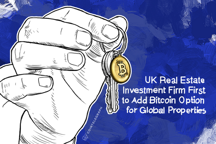 UK Real Estate Investment Firm First to Add Bitcoin Option for Global Properties