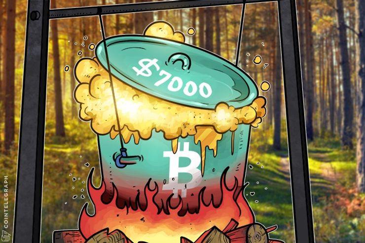 O quê e por que o preço do Bitcoin atingiu US $ 7.000