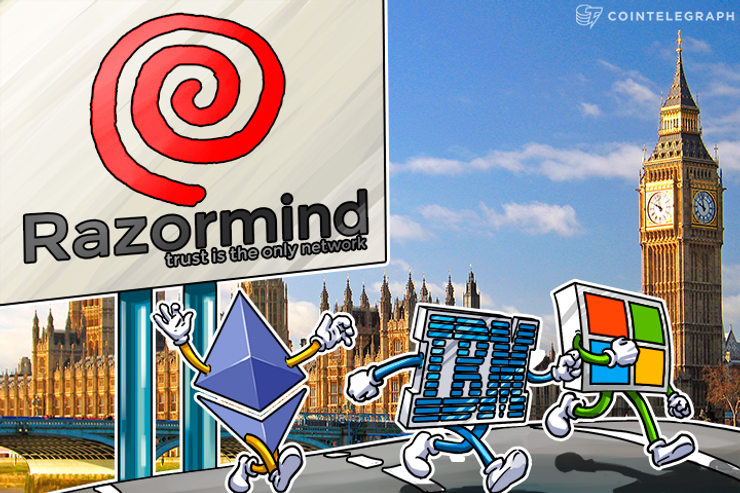 UK Based Razormind Emerges as Blockchain Rival to Ethereum, Microsoft, IBM and Eris