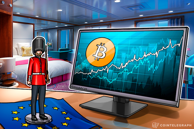 Bitcoin Price Rises Sharply After the UK Votes to Leave the EU, Trading Volumes Big