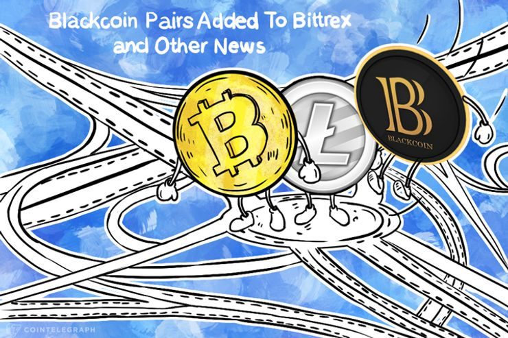 Blackcoin Pairs Added To Bittrex, And Other News