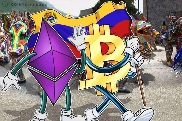 O Ethereum está Crescendo em Popularidade na Venezuela junto com o Bitcoin