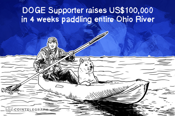 DOGE Supporter raises US$100,000 in 4 weeks paddling entire Ohio River