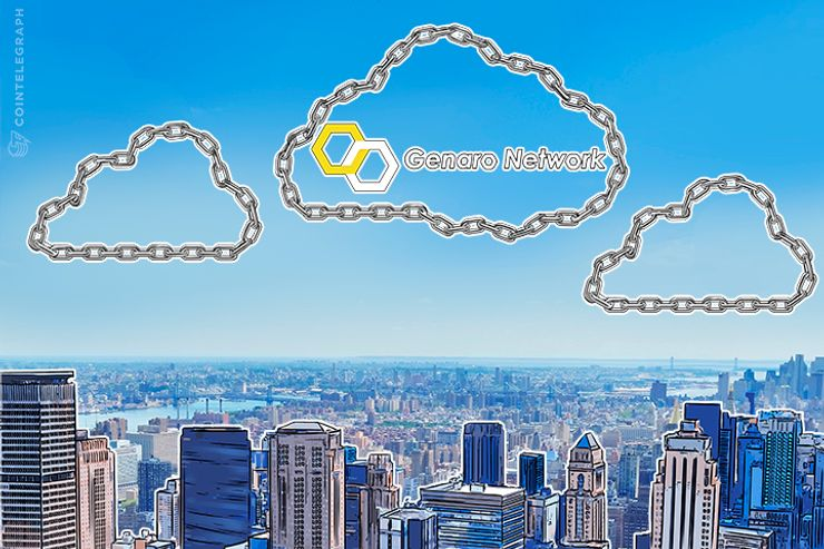 Genaro to Move Data From Cloud to Blockchain