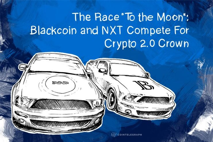 The Race 'To the Moon': Blackcoin and NXT Compete For Crypto 2.0 Crown