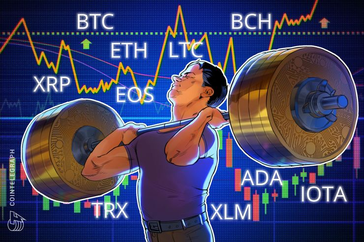 Bitkoin, itirijum, ripl, bitkoin keš, EOS, lajtkoin, kardano, stelar, IOTA, TRX: Analiza cena, 27. jun