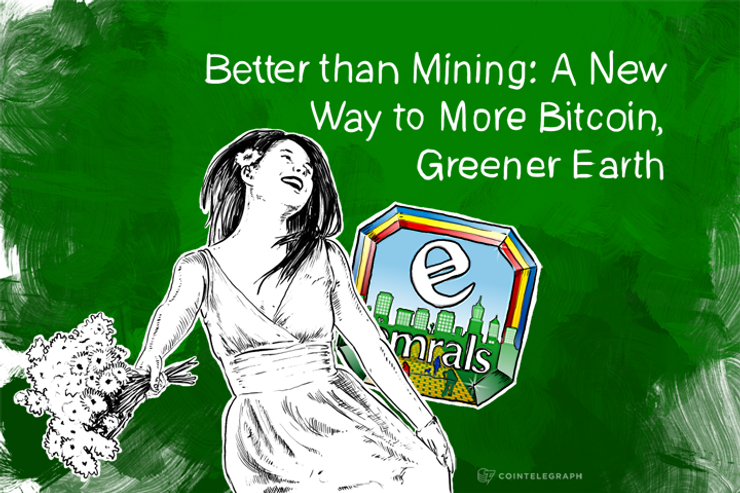 Better than Mining: A New Way to More Bitcoin, Greener Earth