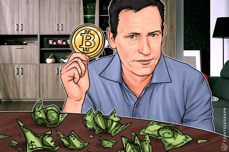Trump-Connected Billionaire Peter Thiel: Bitcoin Threatens Fiat, Tax Authorities Can't Break Codes