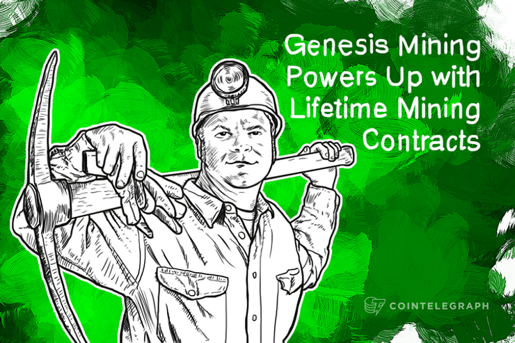 Genesis Mining Powers Up with Lifetime Mining Contracts