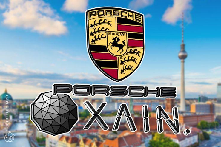 Porsche testet Blockchain-Anwendungen im Auto