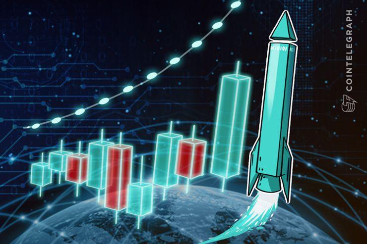 Alza de 18% de Bitcoin y Ethereum en la semana, los mercados están en verde