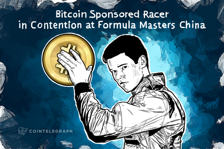 Bitcoin Sponsored Racer in Contention at Formula Masters China