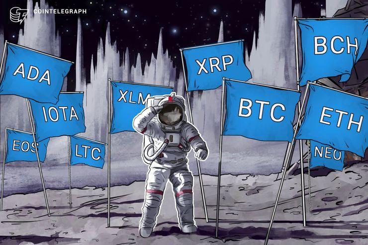 Kursanalyse, 9. Juli: Bitcoin, Ethereum, Ripple, Bitcoin Cash, EOS, Litecoin, Cardano, Stellar, IOTA, NEO