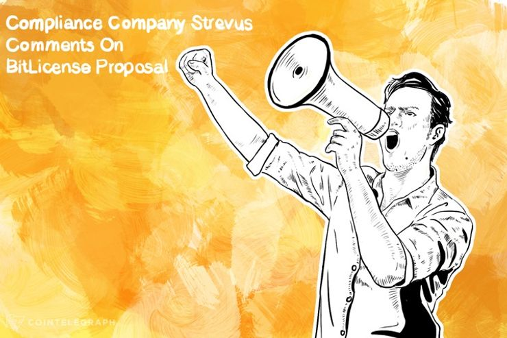 Compliance Company Strevus Comments On BitLicense Proposal