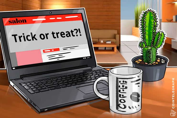 Site de notícias Salon dá aos usuários a 'escolha' de ver anúncios ou minerar criptos, para apoiar a empresa