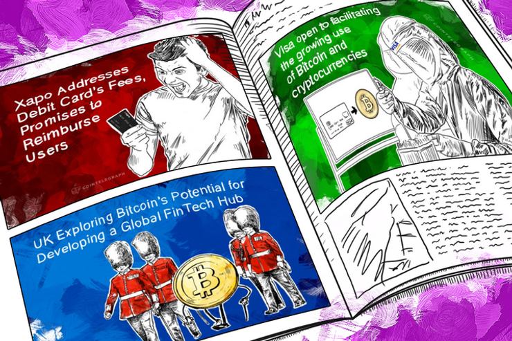 Weekend Roundup: Visa Warms to Bitcoin, Xapo Promises Reimbursement, and 3 Big Governments Speak About Regulation