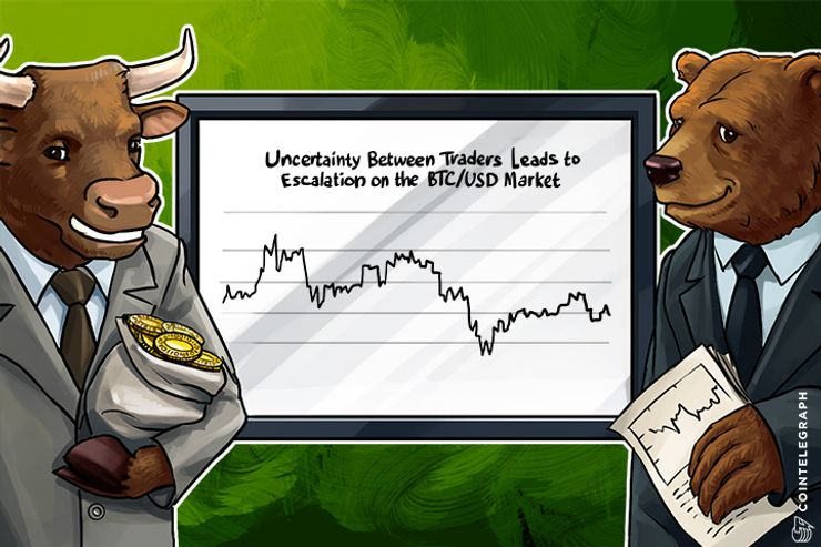 Uncertainty Between Traders Leads to Escalation on the BTC/USD Market