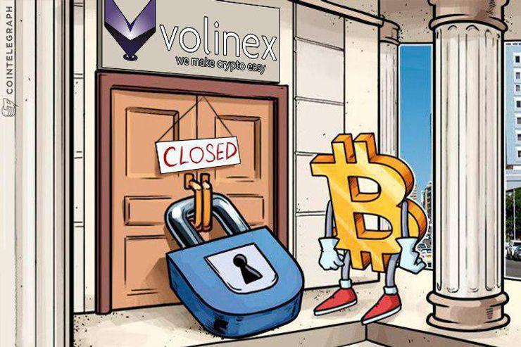 Blockade der Finanzindustrie zwingt Krypto-Kreditkarten-Anbieter Volinex zur Aufgabe
