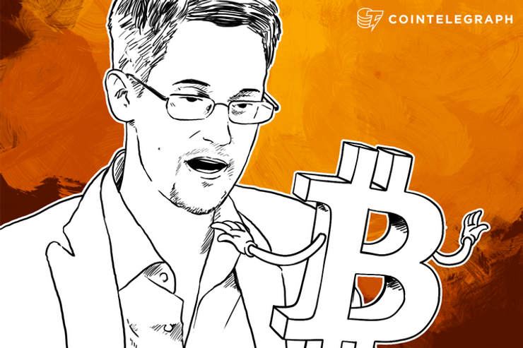 "Edward Snowden on Bitcoin: ""Bitcoin By Itself is Flawed"""