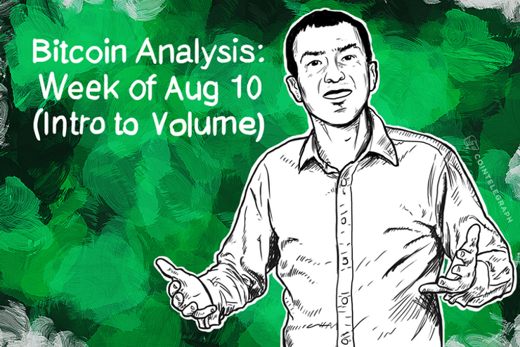 Bitcoin Analysis: Week of Aug 10 (Intro to Volume)